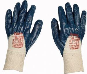 Červa HARRIER pracovní a ochranné rukavice - bavlna máčená v nitrilu - balení 12 párů