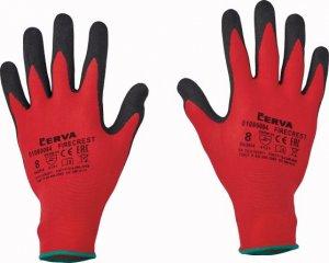 Červa FIRECREST pracovné a ochranné rukavice - nylon máčaný v polyuretáne - balenie 12 párov