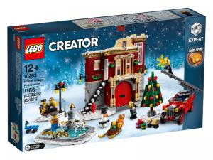 LEGO CREATOR Hasičská stanice v zimě