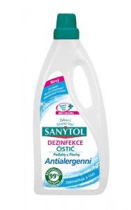 SANYTOL - univerzálny antialergénne dezinfekcia plôch a podláh