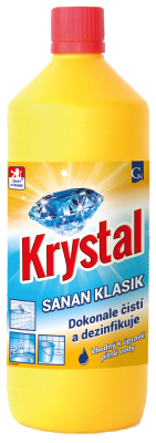 Dezinfekční prostředek KRYSTAL Sanan Klasik 1 l
