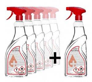 Výhodná akce 5 + 1 zdarma - Dezinfekce na ruce i povrchy s rozprašovačem Anti-COVID 0,5 l