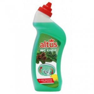 ALTUS Professional WC čistič - čistiaci prostriedok na umývanie WC s vôňou borovice