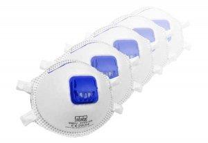 10 Stk - Atemschutzmaske FFP3