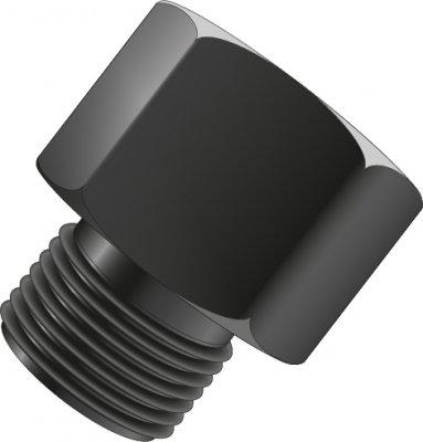 """BETA / ČERVINKA redukcia pre ventil tlakových fliaš (z G3/4"""" na W21,8 x 1/14"""")"""