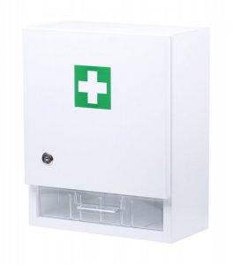 Štěpař prázdná nástěnná lékárnička velká - bílá