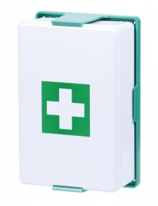 Mobilní nástěnná lékárnička pro 5 osob