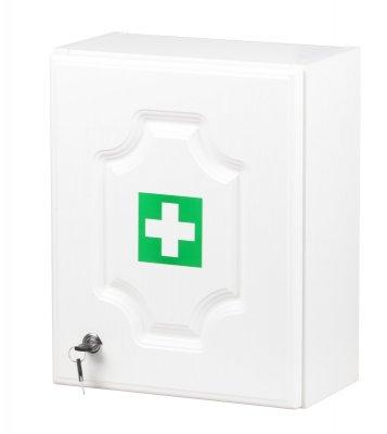 Štěpař nástěnná LUX lékárnička pro 10 osob - bílá