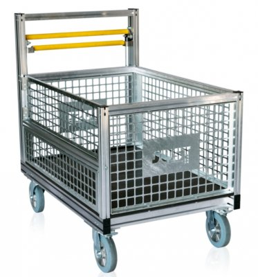Prepravný vozík klietkový