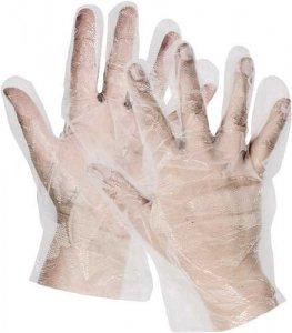 Jednorazové mikroténové rukavice 100 ks