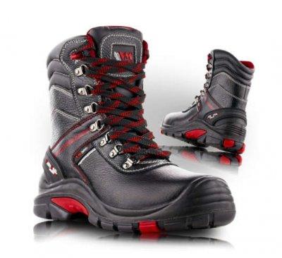 VM LEEDS bezpečnostní obuv - poloholeňová