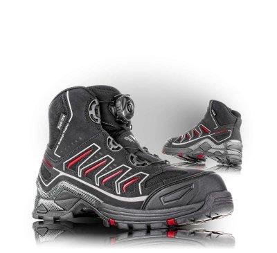 VM OMAHA bezpečnostní obuv - kotníková s BOA