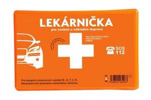 PANACEA SK lekárnička pre osobné a nákladné vozidlá v plastovom obale
