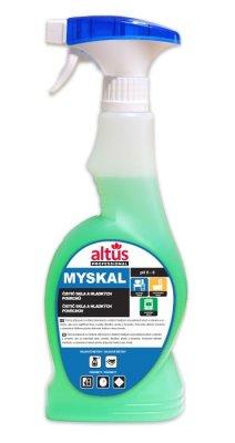Čisticí prostředek na mytí skla a hladkých povrchů ALTUS Professional MYSKAL