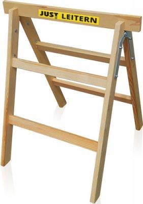 JUST Typ 13.002 - Skládací dřevěná podpěrka (koza)