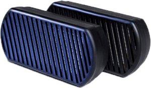 Náhradní dekontaminovatelné nádechové filtry pro nanomasku V4 WPA (FFP3)