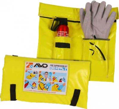 AVD Set zum Löschen von Lithiumbatteriebränden - klein