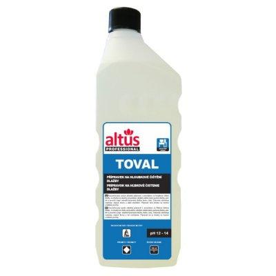 Čisticí prostředek na hloubkové čištění dlažby ALTUS Professional TOVAL