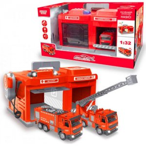 HM Studio garáž pre hasičské autá