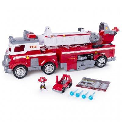 Tlapková patrola hasičské auto s efektami - veľké