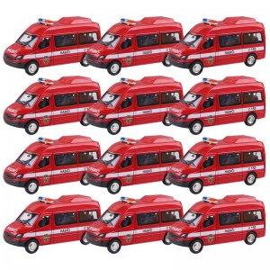 HM Studio hasičské auto - kovové