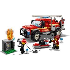 Lego City vůz velitelky hasičů - zásahový