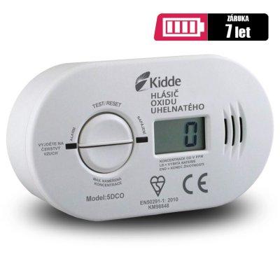 Kidde 5DCO detektor CO s alarmem a LCD displejem