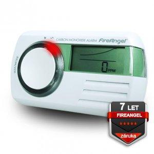FireAngel CO-9D-INT detektor CO s alarmom a multifunkčným LCD displejom