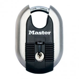 Master Lock Excell M187EURD titanový visací zámek 60 mm