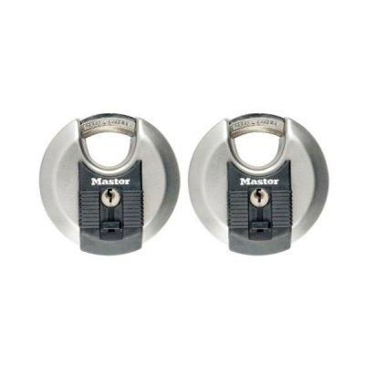 Master Lock Excell M40EURT set 2ks diskových visacích zámků 70 mm