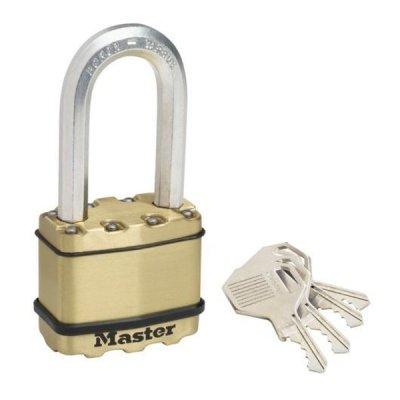 Master Lock Excell M5BEURDLH mosazný visací zámek 50 mm