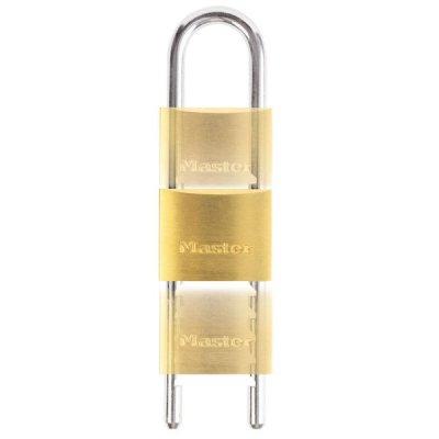 Master Lock 1950EURD mosazný nastavitelný visací zámek 50 mm