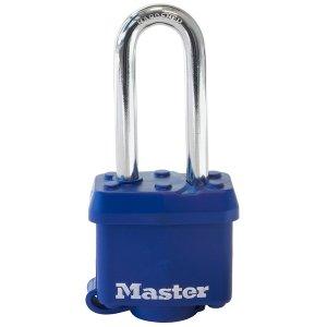 Master Lock Excell - 64mm M830EURDLH Pochrómovaný visiaci zámok