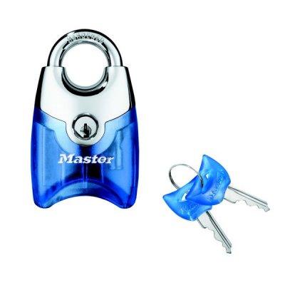 Master Lock Fusion 192EURD visací zámek 44 mm - modrý