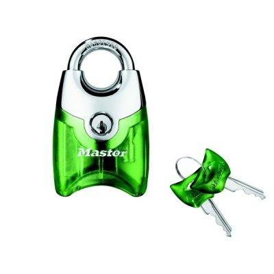 Master Lock Fusion 192EURD visací zámek 44 mm - zelený