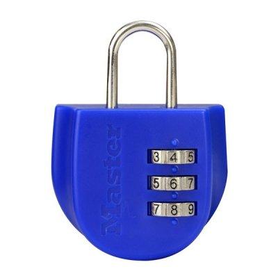 Master Lock 4675EURDBLU visací zámek na zavazadlo 44 mm