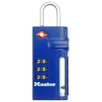 Master Lock TSA 4693EURDBLU visací zámek na zavazadla 32 mm