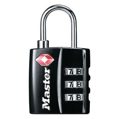 Master Lock TSA 4680EURDBLK visací kombinační zámek 30 mm