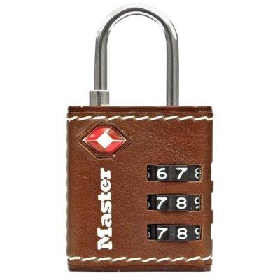 Master Lock TSA 4692EURDBRN visací kombinační zámek 32 mm