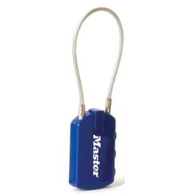 Master Lock 4684EURD visací zámek pro zavazadla - modrý