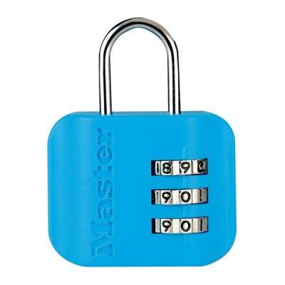 Master Lock 4670EURDCOL  visací zámek pro zavazadla - modrý