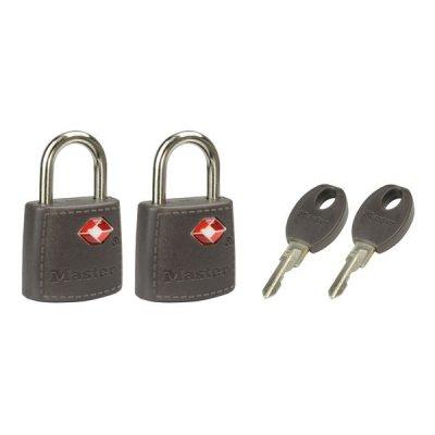 Master Lock TSA 4695EURTAST  set 2 ks visacích zámků - šedý