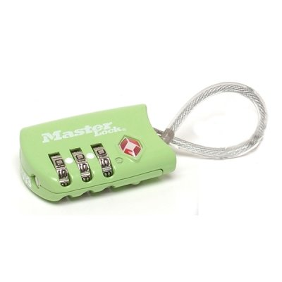 Master Lock TSA 4688EURD visací kombinační zámek - zelený