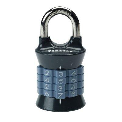 Master Lock 1535EURDGRY kombinační visací zámek vertikální - šedý