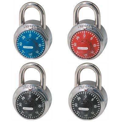 Master Lock 1503EURD set kombinačních  visacích zámků 48 mm (1 balení / 4 ks)