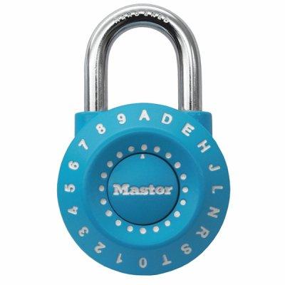 Master Lock 1590EURDCOL kombinační visací zámek - modrý