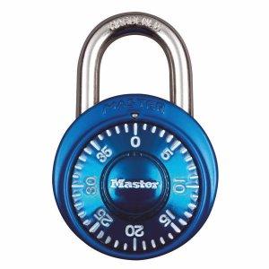 Master Lock 1530EURDCM kombinačný visiaci zámok 48 mm - modrý