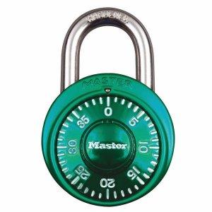 Master Lock 1530EURDCM kombinačný visiaci zámok 48 mm - zelený