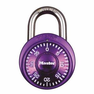 Master Lock 1530EURDCM kombinační visací zámek 48 mm - fialový