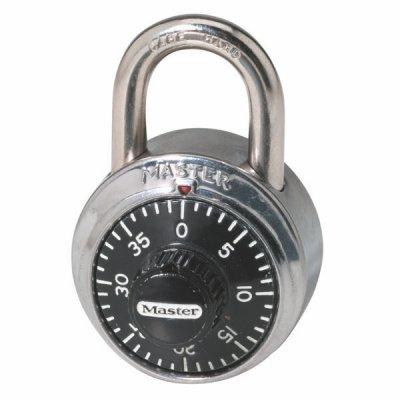 Master Lock 1503EURD kombinačný visiaci zámok 48 mm - čierny